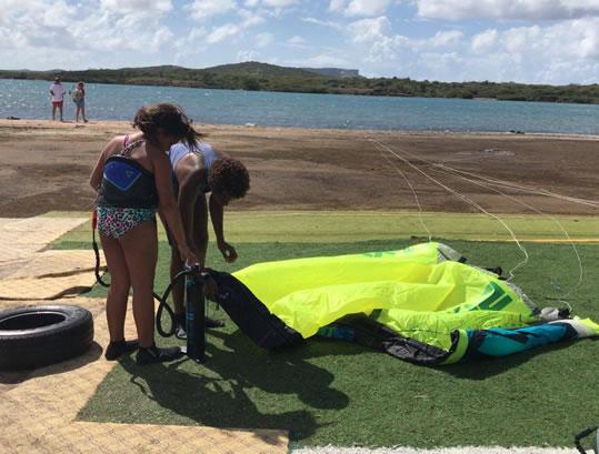 kids kiteboarding lessons
