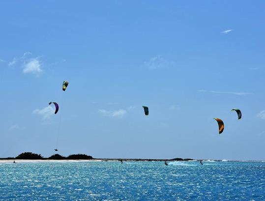 klein curacao kitesurfing