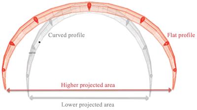 Kiteboarding Kite Profile